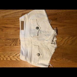 White true Religion shorts